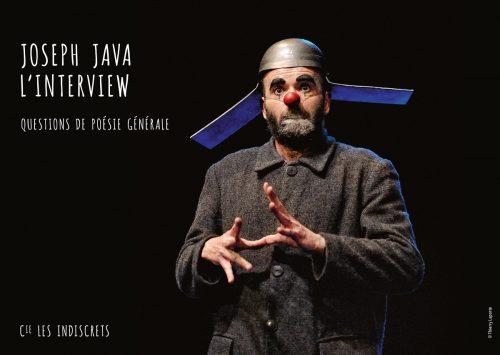Joseph Java l'interview, Cie des Indiscrets